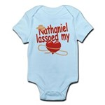 Nathaniel Lassoed My Heart Infant Bodysuit