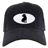 Christmas or Holiday Shar Pei Silhouette Baseball Cap