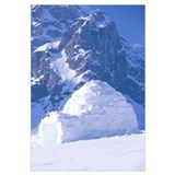 Igloo Ruth Amphitheater Day Scenic Alaska Range In