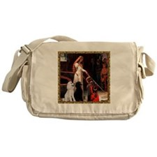 Accolade & Poodle Pair (ST1) Messenger Bag