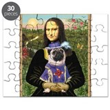 Mona Lisa & Sir Pug Puzzle