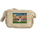 Guardian /Rat Terrier Messenger Bag