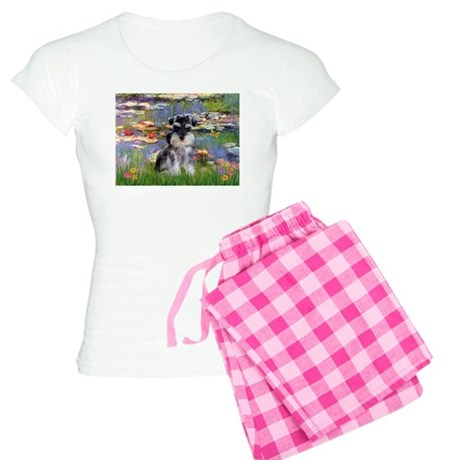 Liles & Schnauzer (Nat.) Women's Light Pajamas