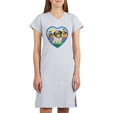 Shih Tzu in my heart (P) Women's Nightshirt