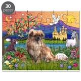Tibetan Spaniel in Fantasy La Puzzle