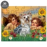 Angels with Yorkie Puzzle