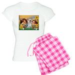 Angels with Yorkie Women's Light Pajamas