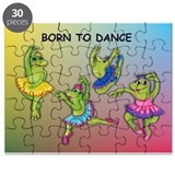 Ballet Frogs Puzzle