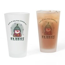 Flakes Drinking Glass