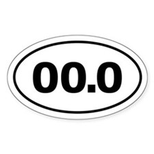 No Marathon 00.0 Decal