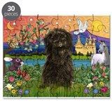 Affenpinscher in Fantasyland Puzzle