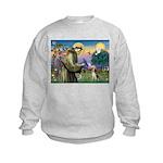 Saint Francis / Beagle Kids Sweatshirt