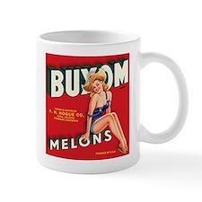 Buxom Melons 2 Small Mugs