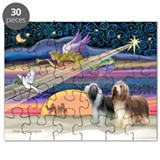 Bearded collie Puzzels