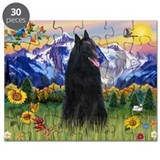 Mountain Country + Belgian Shepherd Puzzle