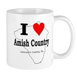 I Love Amish Small Mug
