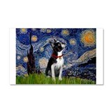 Starry Night & Boston Car Magnet 20 x 12
