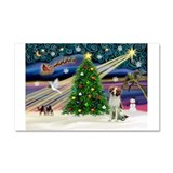 Xmas Magic /Brittany Car Magnet 20 x 12