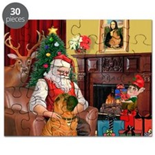Santa's Shar Pei Puzzle