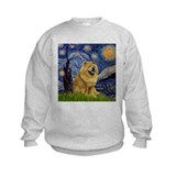 Unique Chow chow painting Sweatshirt