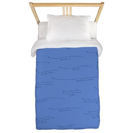 Dream Quotes Twin Duvet