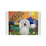Fantasy Land/Coton Rectangle Magnet