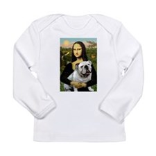 Mona & English Bulldog Long Sleeve Infant T-Shirt