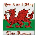 Unique Wales Tile Coaster