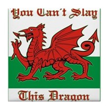 Cool Welsh Tile Coaster