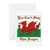 Unique Welsh Greeting Cards (Pk of 10)