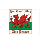 Unique Welsh dragon Postcards (Package of 8)