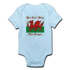 Welsh Dragon Body Suit