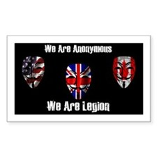 We Are Legion - Anonymous Decal