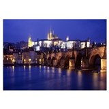 Czech Republic, Prague, Vltava River, Charles Brid