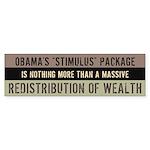 Failed Stimulus Sticker (Bumper 10 pk)