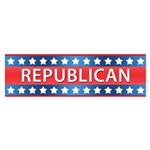 Republican Sticker (Bumper 10 pk)