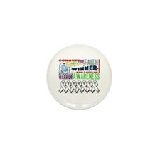 Empowering Lung Cancer Mini Button (100 pack)