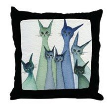 Hilo Stray Cats Pillow