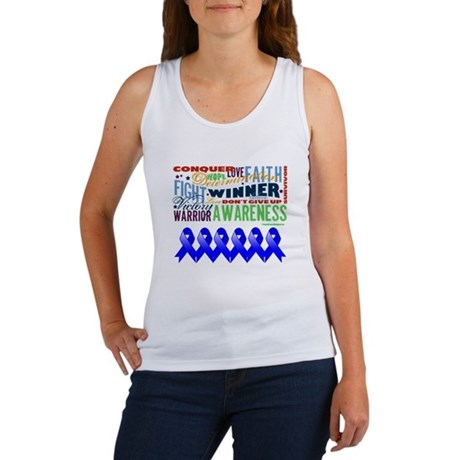 Empowering Colon Cancer Women's Tank Top
