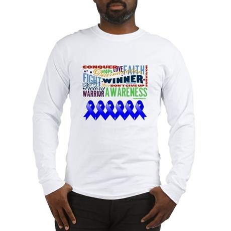 Empowering Colon Cancer Long Sleeve T-Shirt