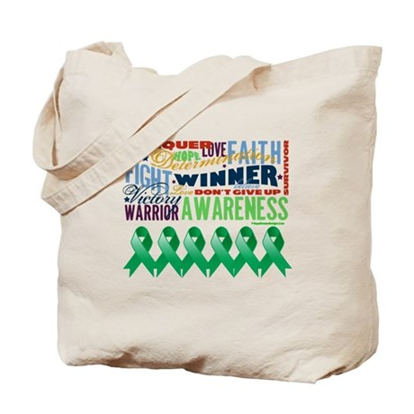 Empowering Liver Cancer Tote Bag
