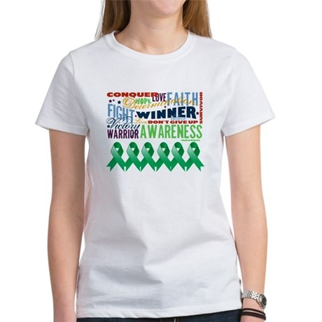 Empowering Liver Cancer Women's T-Shirt