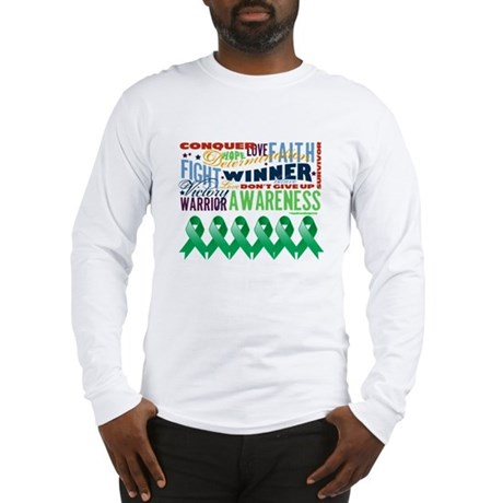 Empowering Liver Cancer Long Sleeve T-Shirt