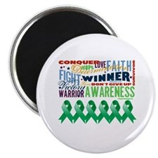"Empowering Liver Cancer 2.25"" Magnet (10 pack)"