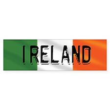 Ireland Logo Flag Bumper Sticker