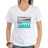 Empowering Ovarian Cancer Shirt