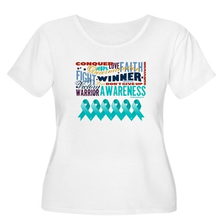 Empowering Ovarian Cancer Women's Plus Size Scoop