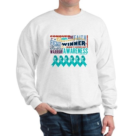 Empowering Ovarian Cancer Sweatshirt