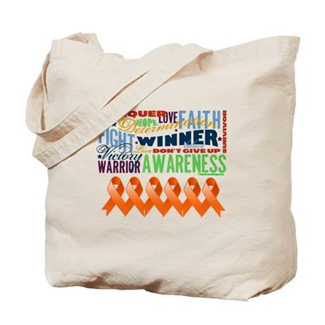 Empowering Leukemia Tote Bag