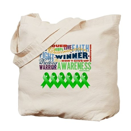 Powerful Bile Duct Cancer Tote Bag